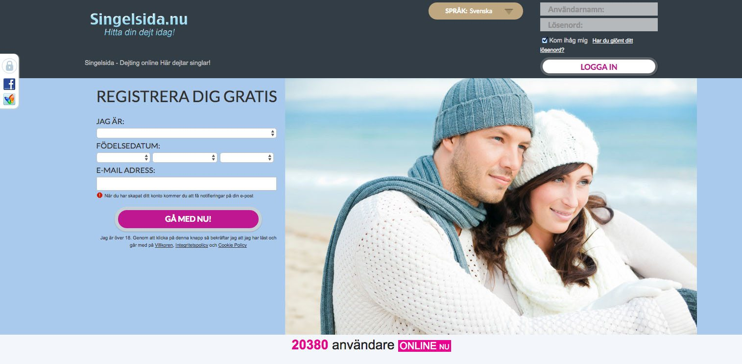 bästa dating site dejting online